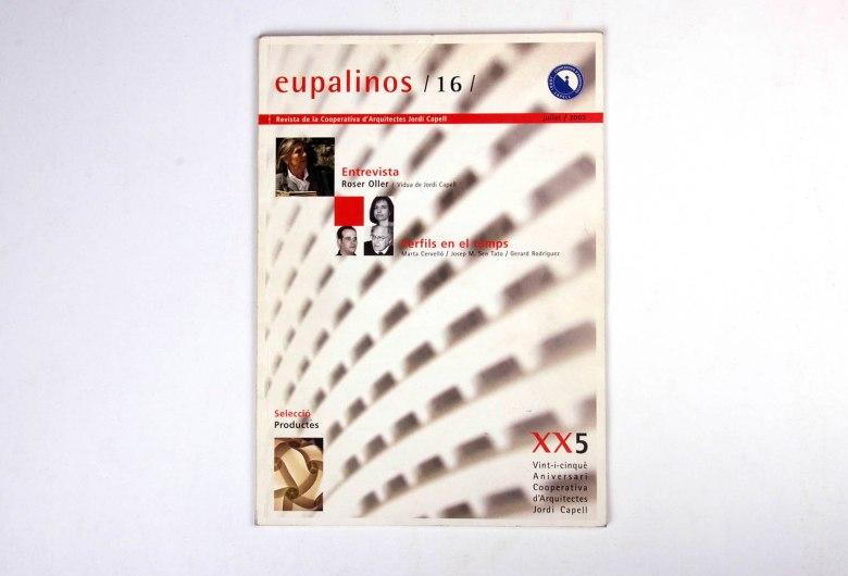 Revista Eupalinos tapa