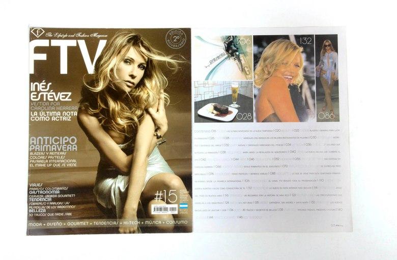 Revista FTV tapa 1